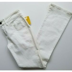 Yummie by Heather Thomson 28 white bootcut jeans